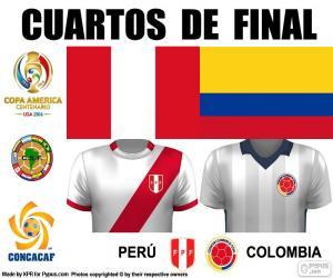 Rompicapo di PER - COL, Copa América 2016
