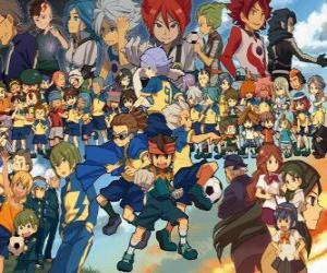 Rompicapo di Personaggi di Inazuma Eleven