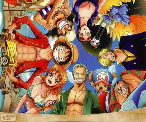 Rompicapo di Personaggi di One Piece