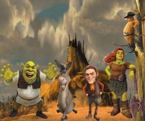 Rompicapo di Personaggi, l'ultimo film Shrek e vissero felici e contenti