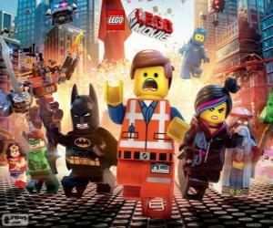 Rompicapo di Personaggi principali dal film Lego