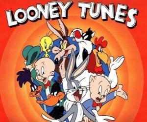 Rompicapo di personaggi principali della Looney Tunes
