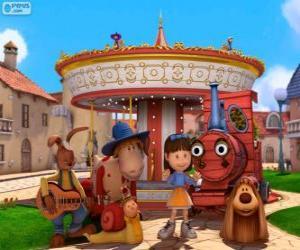 Rompicapo di Personaggi principali del film Dougal - The Magic Roundabout