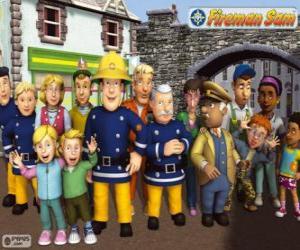 Rompicapo di Personaggi, Sam il pompiere