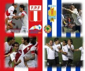 Rompicapo di Perù - Uruguay, semifinali, Copa América Argentina 2011