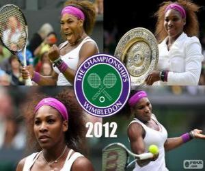 Rompicapo di Petra Kvitova campione di Wimbledon 2012