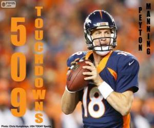 Rompicapo di Peyton Manning 509 touchdowns