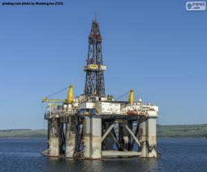 Rompicapo di Piattaforma petrolifera marina