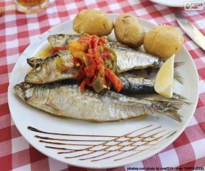 Rompicapo di Piatto di sardine