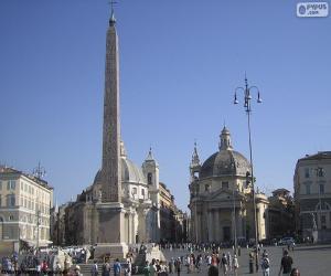 Rompicapo di Piazza del Popolo, Roma