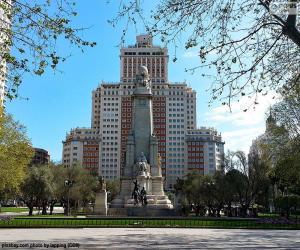 Rompicapo di Piazza di Spagna, Madrid