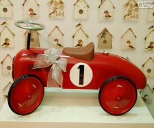 Rompicapo di Piccola auto giocattolo per Natale