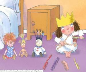 Rompicapo di Piccola principessa pettinare le bambole