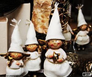 Rompicapo di Piccoli angeli Natale