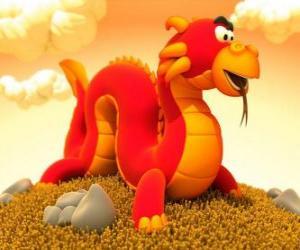 Rompicapo di Piccolo drago divertente