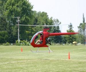 Rompicapo di Piccolo elicottero con pilota