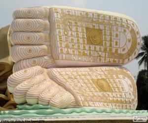 Rompicapo di Piedi del Buddha