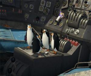 Rompicapo di Pinguini riparato un vecchio aereo caduto