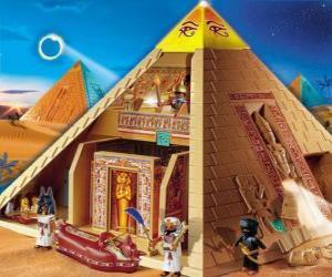 Rompicapo di Piramide Egitto Playmobil