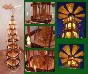 Rompicapo di Piramide natalizia