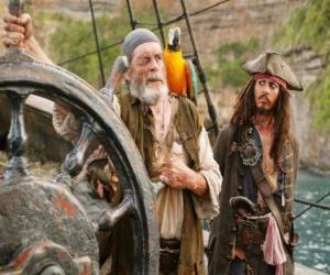 Rompicapo di Pirata al timone