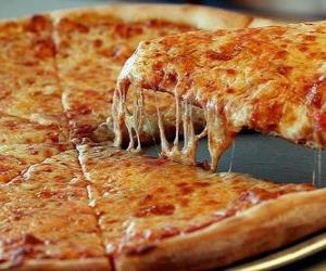 Rompicapo di Pizza al formaggio