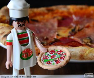 Rompicapo di Pizza di Playmobil