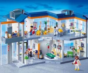 Rompicapo di Playmobil clinica