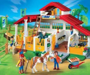 Rompicapo di Playmobil fattoria