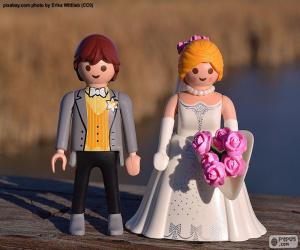 Rompicapo di Playmobil fidanzati