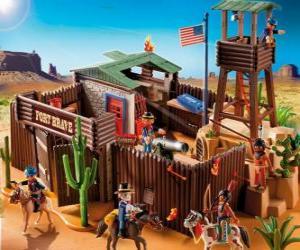Rompicapo di Playmobil Fort