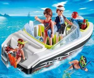 Rompicapo di Playmobil Motoscafo