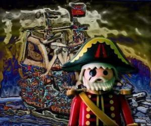 Rompicapo di Playmobil Pirate