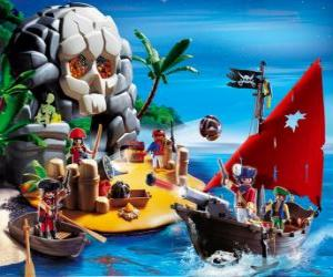 Rompicapo di Playmobil Pirates Scene