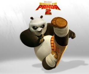 Rompicapo di Po è il protagonista delle avventure del film Kung Fu Panda 2