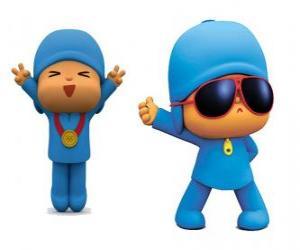 Rompicapo di Pocoyo è un piccolo bimbo, allegro e divertente che sta scoprendo il mondo