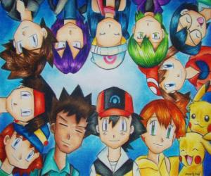 Rompicapo di Pokémon Personaggi