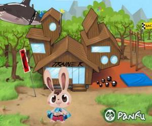 Rompicapo di Pokopet Bugsy, un coniglio, una specie di mascotte de Panfu