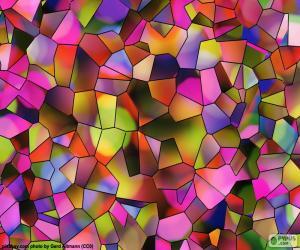 Rompicapo di Poligoni di colori