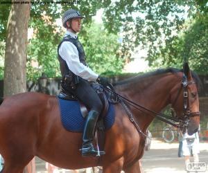 Rompicapo di Polizia di Londra a cavallo