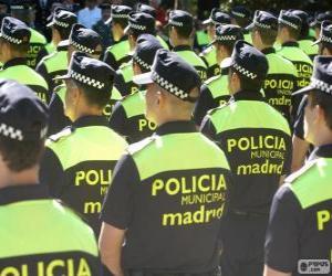Rompicapo di Polizia municipale, madrid