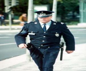 Rompicapo di Poliziotto o agente di polizia