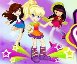 Rompicapo di Polly Ballando con alcuni amici