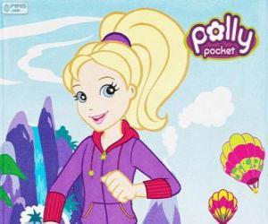 Rompicapo di Polly Pocket con abbigliamento sportivo o sportswear