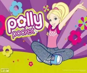 Rompicapo di Polly seduta sul pavimento