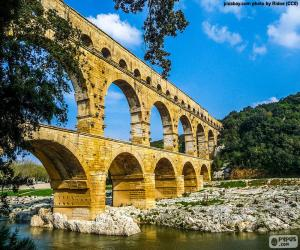 Rompicapo di Ponte del Gard, Francia