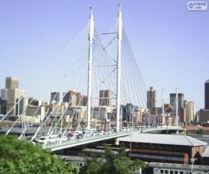 Rompicapo di Ponte Nelson Mandela, Johannesburg, Sudafrica