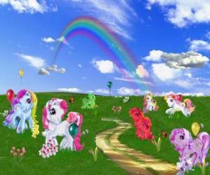 Rompicapo di Pony nel campo