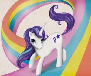 Rompicapo di Pony sopra l'arcobaleno