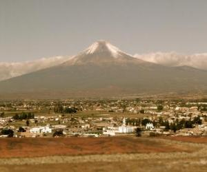 Rompicapo di Popocatepetl Messico